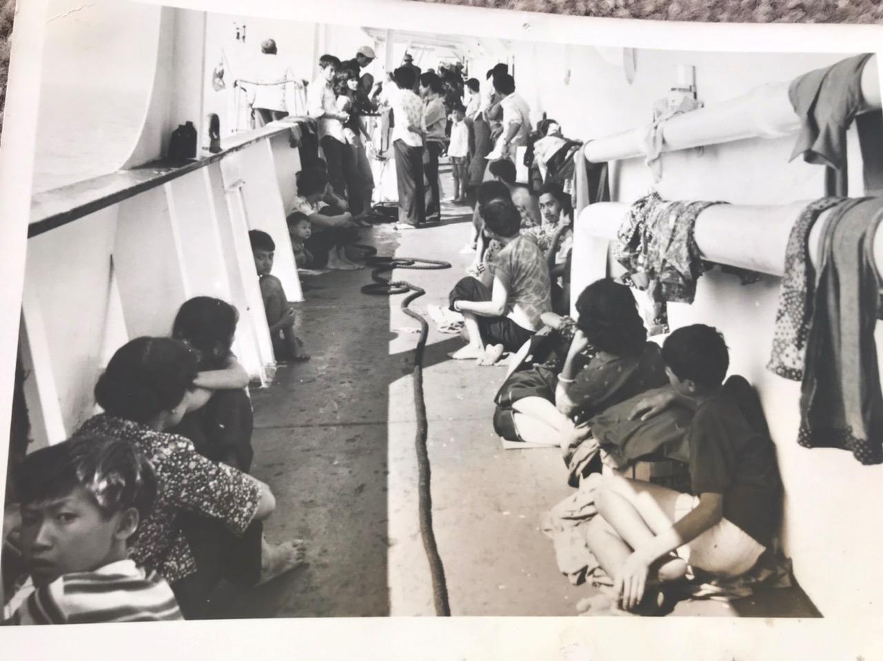 On board the Sibonga